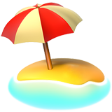 beach-with-umbrella_1f3d6