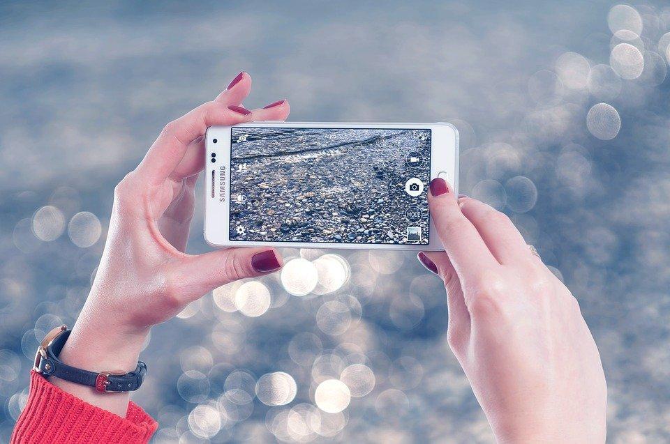 fotos no celular para loja virtual