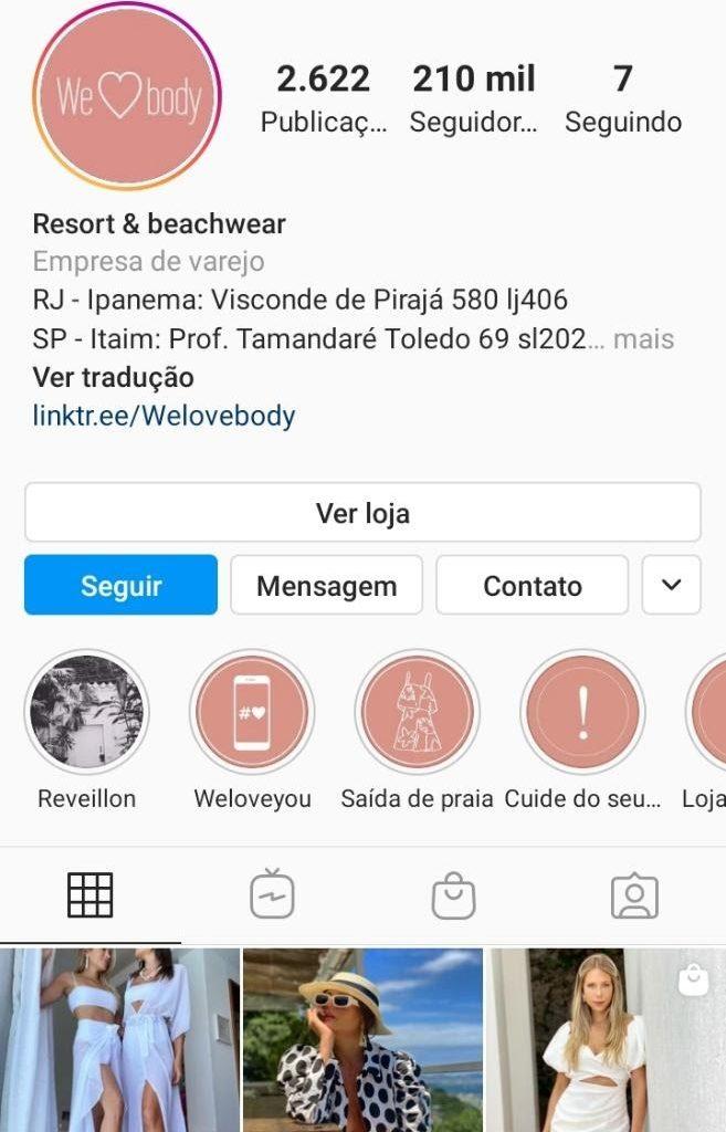 Instagram shopping como criar